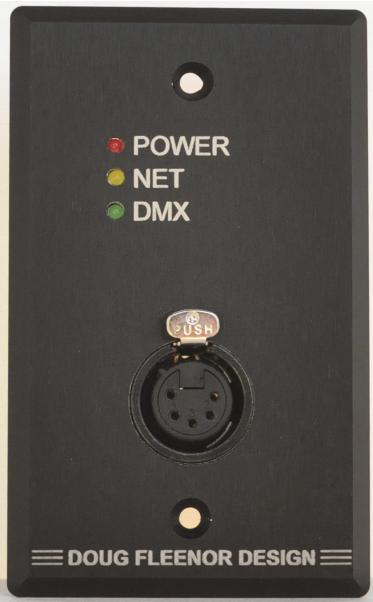 Doug Fleenor Design - Node1 Ethernet to DMX
